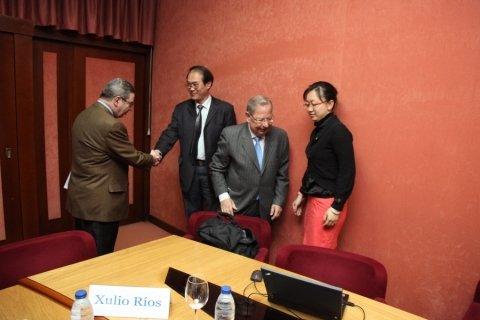 Imaxes Dositeo Rodríguez Rodríguez. Licenciado en Dereito.  - Xornadas sobre autonomías en España e China: Galicia como exemplo